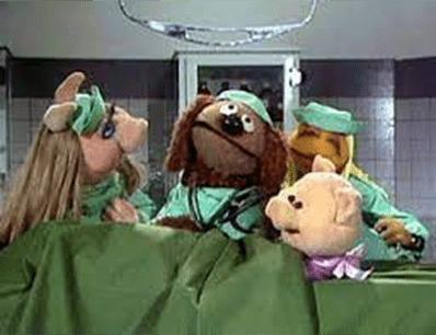 Muppet Show topfitte dokters